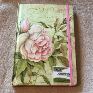 Rose Botanical Journal Notebook NWT Lang 192 pages